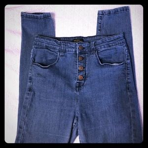 Forever 21 Button fly jeans